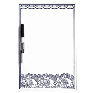 Aquarium Fishes Coloring Dry-Erase Board