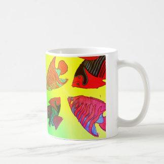 Aquarium in brilliant colors coffee mug