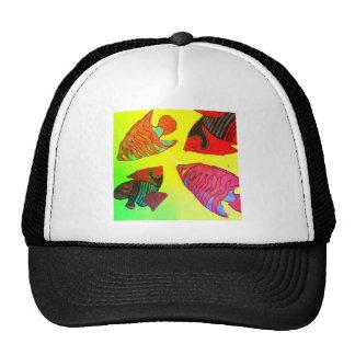 Aquarium in brilliant colors trucker hat
