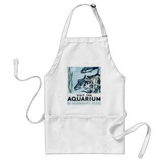 Aquarium in Fairmount Park Adult Apron
