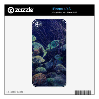 Aquarium iPhone 4S Skin