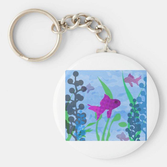 Aquarium Keychain