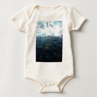aquarium life baby bodysuit