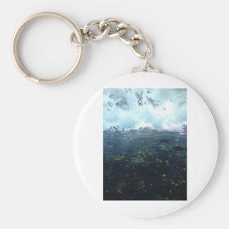 aquarium life keychain