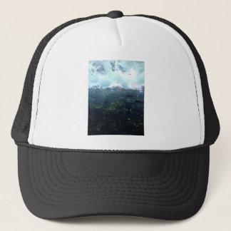 aquarium life trucker hat