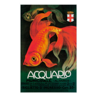 Aquarium & Municipal Park Promotional Poster