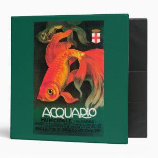 Aquarium & Municipal Park Promotional Poster 3 Ring Binder