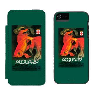 Aquarium & Municipal Park Promotional Poster Wallet Case For iPhone SE/5/5s