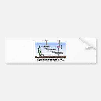 Aquarium Nitrogen Cycle (Ecology) Car Bumper Sticker