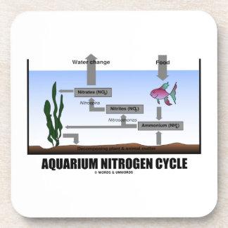 Aquarium Nitrogen Cycle (Ecology) Beverage Coasters