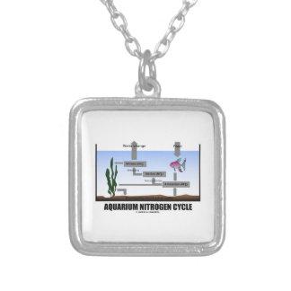 Aquarium Nitrogen Cycle (Ecology) Personalized Necklace