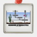 Aquarium Nitrogen Cycle (Ecology) Christmas Tree Ornament