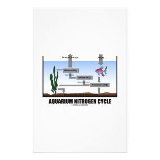 Aquarium Nitrogen Cycle (Ecology) Stationery