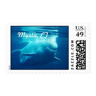Aquarium Postage Stamp