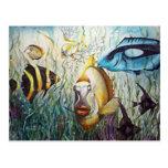 Aquarium Postcards