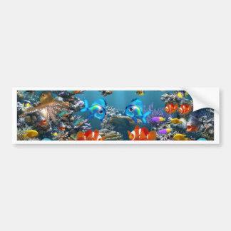 Aquarium Sea Bumper Sticker