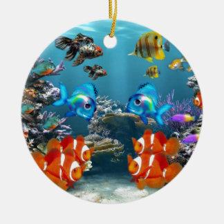 Aquarium Sea Ceramic Ornament