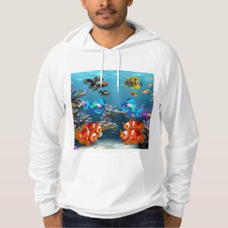 Aquarium Sealife Hoodie