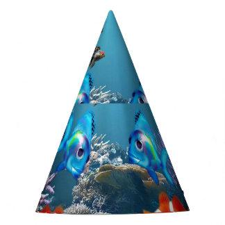 Aquarium Sealife Party Hat
