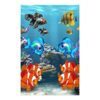 Aquarium Sealife Stationery
