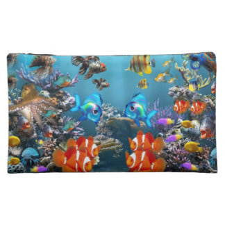 Aquarium Sealife Style Cosmetic Bag