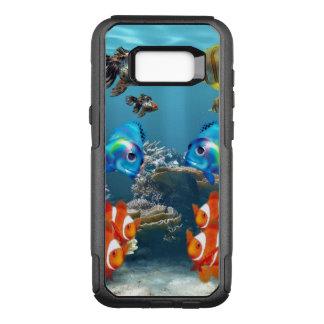 Aquarium Sealife Style OtterBox Commuter Samsung Galaxy S8+ Case