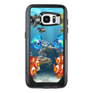 Aquarium Sealife Style OtterBox Samsung Galaxy S7 Edge Case