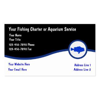 Aquarium Service Business Cards