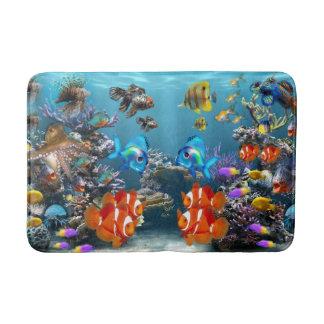 Aquarium Style Bath Mat