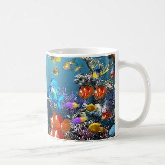 Aquarium Style Coffee Mug