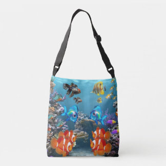Aquarium Style Crossbody Bag