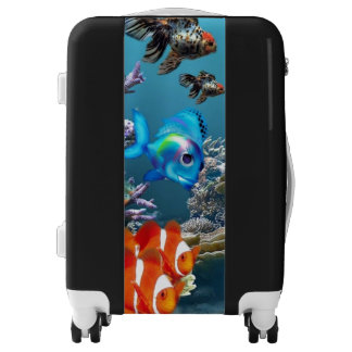 Aquarium Style Luggage
