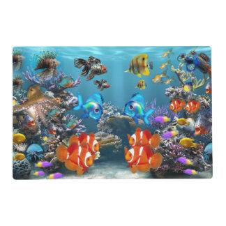 Aquarium Style Placemat