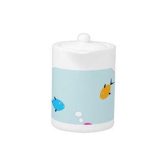 aquarium teapot