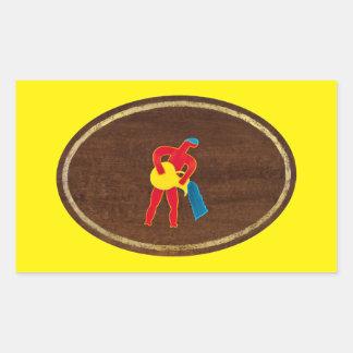 Aquarius 2008 rectangular sticker