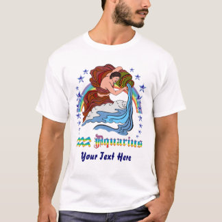 Aquarius 3 Front Men Light T-Shirt