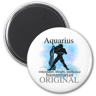 Aquarius About You 2 Inch Round Magnet