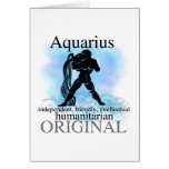Aquarius About You Greeting Card