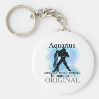 Aquarius About You Keychain