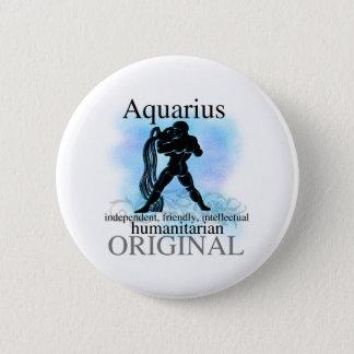 Aquarius About You Pinback Button