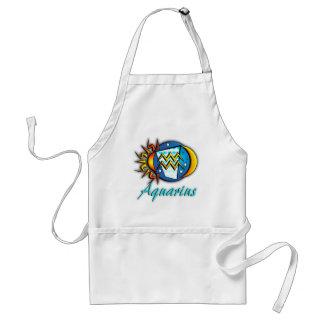 Aquarius Adult Apron