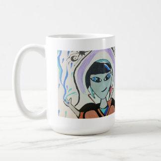 Aquarius Alien Mug