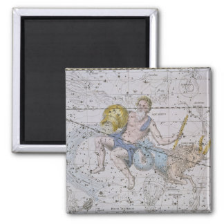 Aquarius and Capricorn, from 'A Celestial Atlas', Magnet
