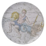 Aquarius and Capricorn, from 'A Celestial Atlas', Dinner Plate