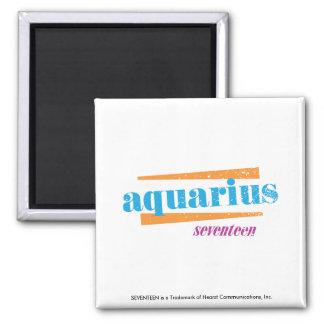 Aquarius Aqua 2 Inch Square Magnet