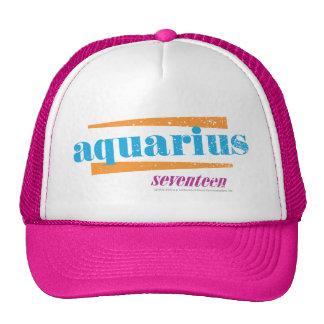 Aquarius Aqua Trucker Hat