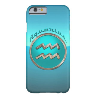Aquarius Astrological Sign Barely There iPhone 6 Case