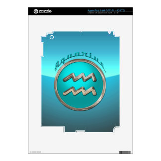 Aquarius Astrological Sign iPad 3 Skin