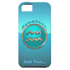 Aquarius Astrological Sign iPhone SE/5/5s Case