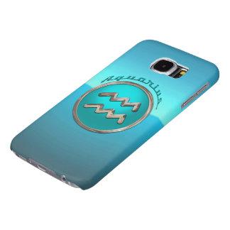 Aquarius Astrological Sign Samsung Galaxy S6 Case